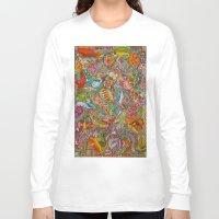 redhead Long Sleeve T-shirts featuring Redhead by Kk307 Karyn Deveraux