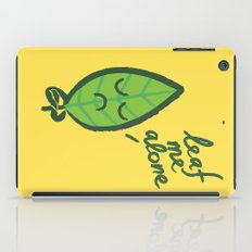 The introvert leaf iPad Case