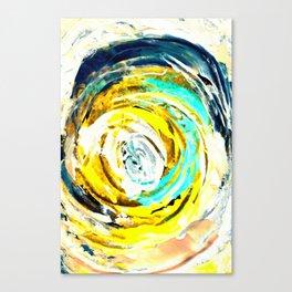 Yellow twister Canvas Print