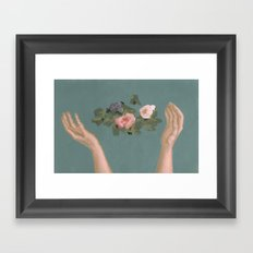 Left Alone Framed Art Print