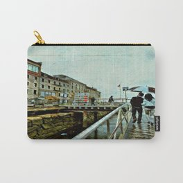 Boston Rain: Exit Gate 3 Carry-All Pouch