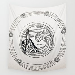Porthole 1. Wall Tapestry
