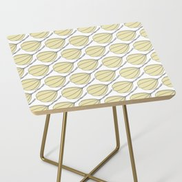 Provolone (cheese pattern) Side Table