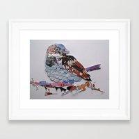 sparrow Framed Art Prints featuring sparrow by Ruud van Koningsbrugge