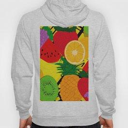 Fruits Pattern Hoody