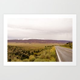 Road to the Grand Canyon Art Print