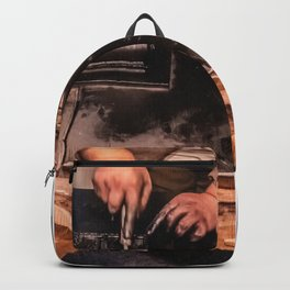 Vintage Typographer Backpack