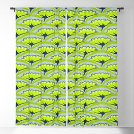 texture green plant leaves arches Blackout Curtain