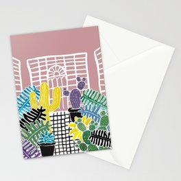 Cacti & Succulent Greenhouse Stationery Cards