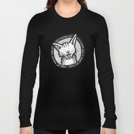 Mee-f'in-ow! Long Sleeve T-shirt