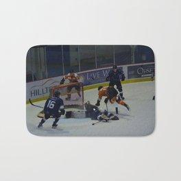 Dive for the Goal - Ice Hockey Bath Mat