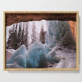 Hanging Lake Spouting Rock at Glenwood Canyon Glenwood Spring Area Colorado. Serving Tray