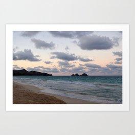 Beachside Mornings Art Print