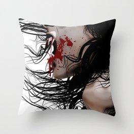 SkinWalker Throw Pillow