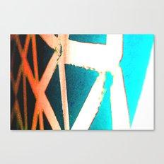 Orange/Blue Canvas Print