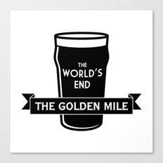 The World's End - The Golden Mile Canvas Print