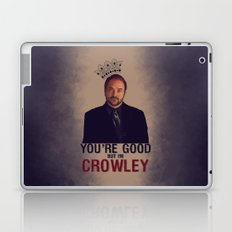 I'm Crowley - Supernatural Laptop & iPad Skin