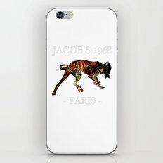Mad Dog IV Contour Black Colors Jacob's 1968 urban fashion Paris iPhone & iPod Skin