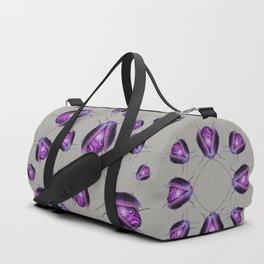 Purple Agate Beetle Duffle Bag