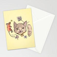 Al gato y al raton Stationery Cards