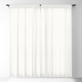 Textured white Blackout Curtain