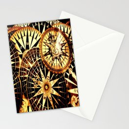 Northern Compass Stationery Cards
