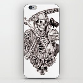 Grim Reaper Vengeance iPhone Skin