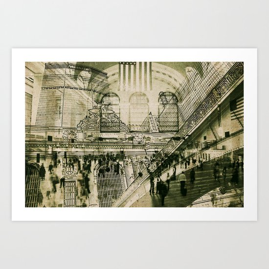 Grand Central Terminal, NYC Art Print