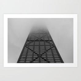 Foggy Chicago Morning 002 Art Print