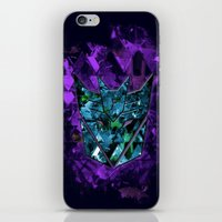 transformers iPhone & iPod Skins featuring Decepticons Abstractness - Transformers by DesignLawrence