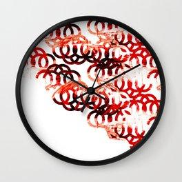 Circle shirt Wall Clock