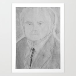 Great Grandpa Booth Art Print