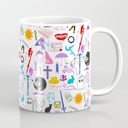 Buffy Symbology, Multi-color / Rainbow / PRIDE! Coffee Mug