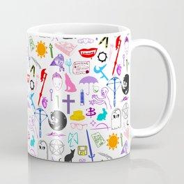 Buffy Symbology, Multi-color / Rainbow / PRIDE! Coffee Mug
