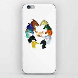 Wings Fire - All Together iPhone Skin