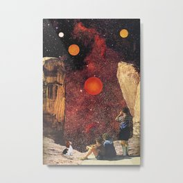 August Astronomy Metal Print