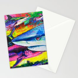 Shark Colors Stationery Cards