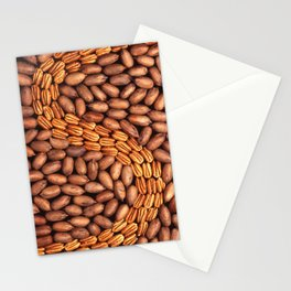 Pecans in a design Stationery Cards