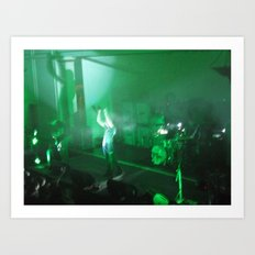 Live In Concert: DISCIPLE Art Print