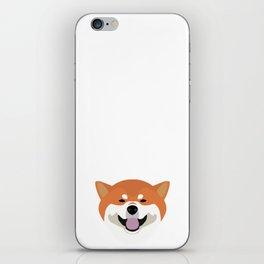 Shiba Inu Decal iPhone Skin