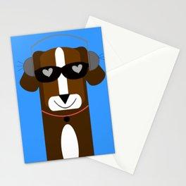 DJ Dachshund Stationery Cards