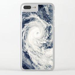 Hurricane Clear iPhone Case