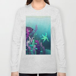 Deep down in the water Long Sleeve T-shirt