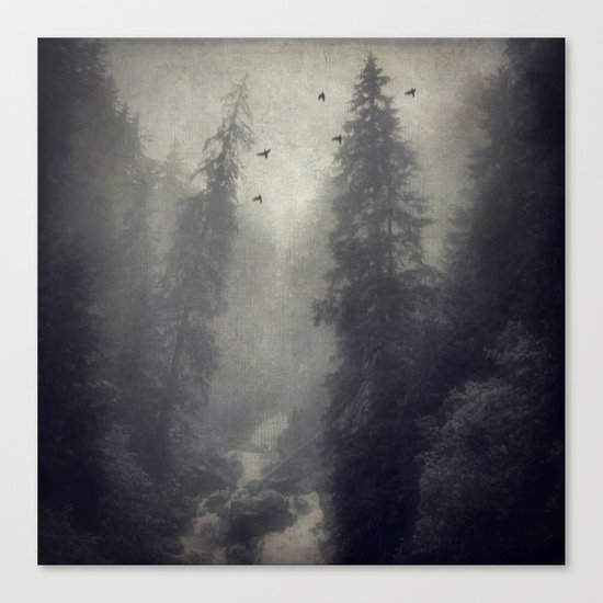 Soft Forest Canvas Print