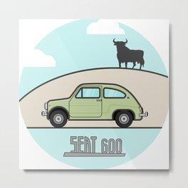 Seat 600 Metal Print
