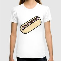 hot dog T-shirts featuring Hot Dog by Tees & Thanks