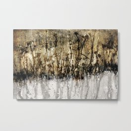 golden garden Metal Print