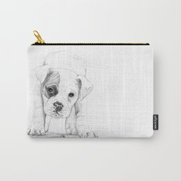 Patch, A Boxer Puppy :: Shelter Dog Project Carry-All Pouch