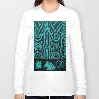 stargate Long Sleeve T-shirts featuring Giza Stargate by LuxMundi