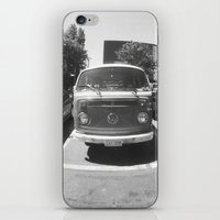 vans iPhone & iPod Skins featuring VW vans by Rachel Wisniewski